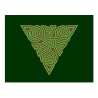 Arboreal Triangle Knot Postcard