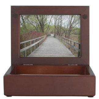 Arboretum Boardwalk Collingwood Ontario Keepsake Boxes
