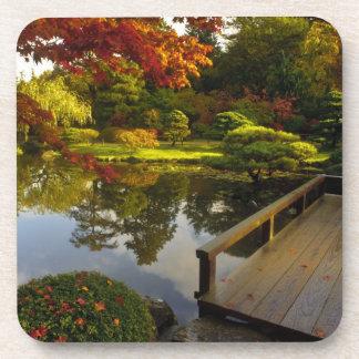 Arboretum, Japanese Garden, Seattle, Washington, Beverage Coaster