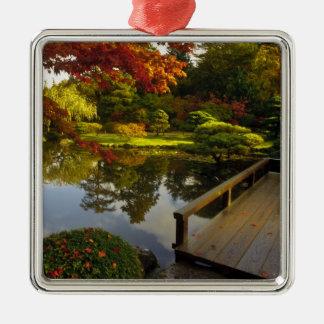Arboretum, Japanese Garden, Seattle, Washington, Metal Ornament