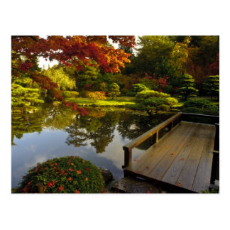 Arboretum, Japanese Garden, Seattle, Washington, Postcard