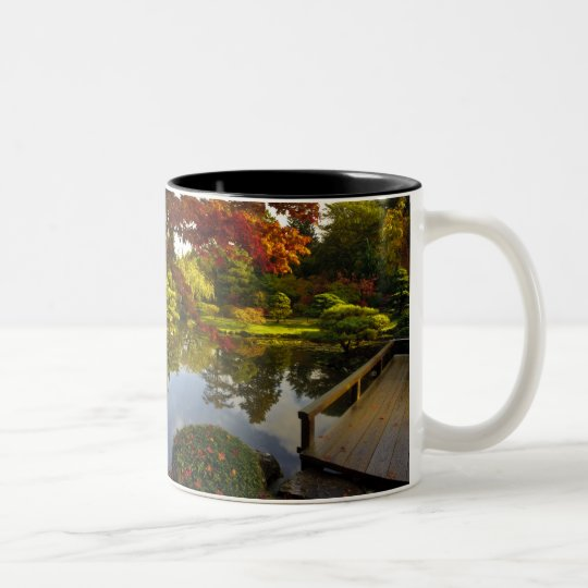 Arboretum, Japanese Garden, Seattle, Washington, Two-Tone Coffee Mug