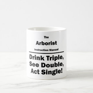 arborist coffee mug