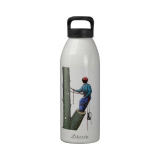 Arborist Tree Surgeon Stihl christmas present Water Bottle