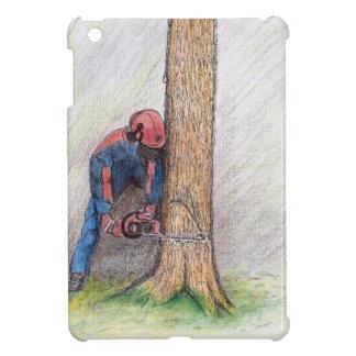 Arborist Tree Surgeon Stihl iPad Mini Cover