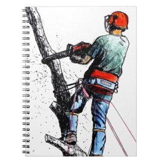 Arborist Tree Surgeon Stihl Notebook