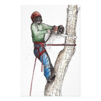Arborist Tree Surgeon Stihl Stationery
