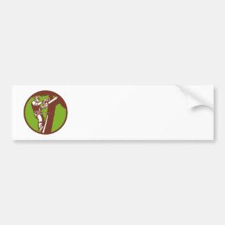 Arborist Tree Surgeon Trimmer Pruner Bumper Stickers