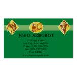 Arborist Tree Trimming Excavation Retro Pack Of Standard Business Cards