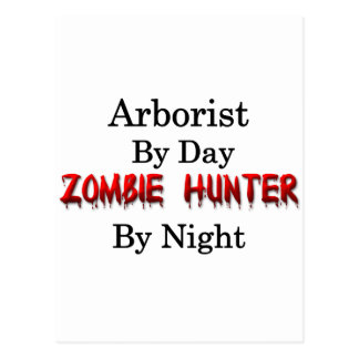 Arborist/Zombie Hunter Postcard