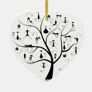 Arbre àchat ceramic ornament