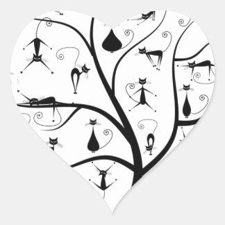 Arbre àchat heart sticker