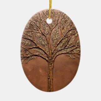 Arbre de L'espoir, Tree of Hope Ceramic Ornament