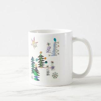 Arbres de Noël avec l'esprit Dada Coffee Mug