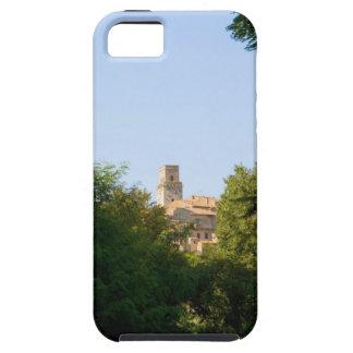Arbres devant un bâtiment, Monteriggioni, iPhone SE/5/5s Case