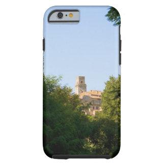 Arbres devant un bâtiment, Monteriggioni, Tough iPhone 6 Case