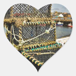 Arbroath Harbour Heart Sticker