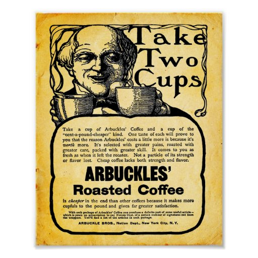 Arbuckles Coffee - Print - Poster