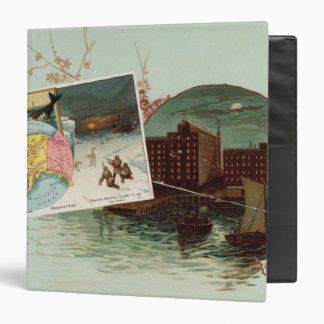 Arbuckles' illustrated atlas binder