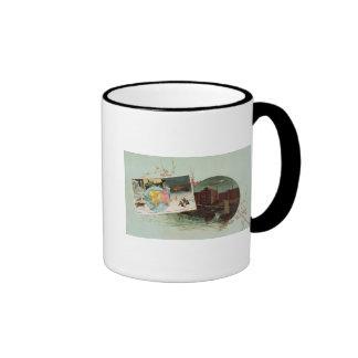 Arbuckles' illustrated atlas ringer mug