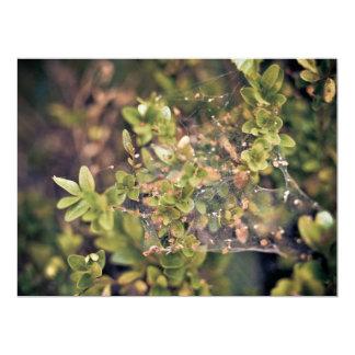 Arbusto de la hiedra invitación 16,5 x 22,2 cm