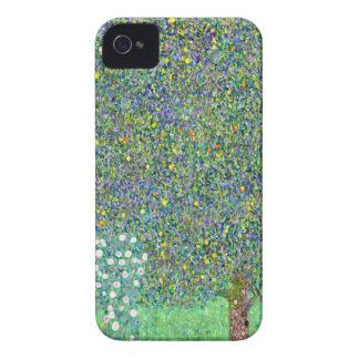 Arbustos color de rosa de Klimt Case-Mate iPhone 4 Protectores