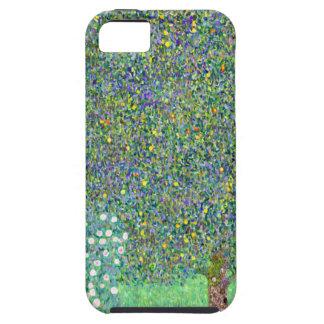 Arbustos color de rosa de Klimt Funda Para iPhone SE/5/5s