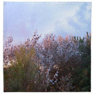 Arbustos Sunlit Servilletas