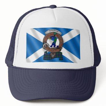 Beach Themed Arbuthnott Clan Badge Trucker Hat