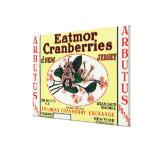 Arbutus Eatmor Cranberries Brand Canvas Print