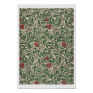 'Arbutus' wallpaper designed by Kathleen Kersey fo Poster
