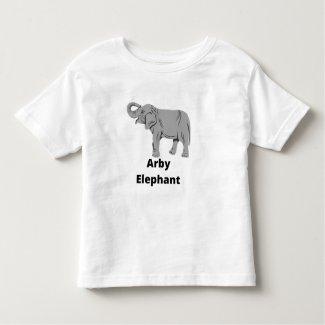 Arby Elephant Toddler T-shirt