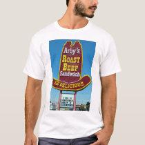 ARBY'S ROAST BEEF SANDWICH Sign T-Shirt