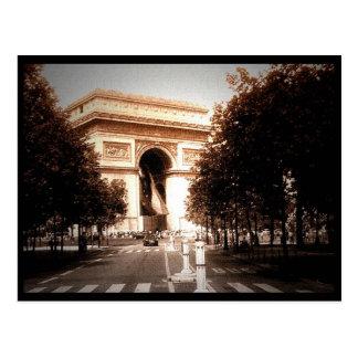 Arc de triomphe 2 postcard