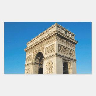 Arc de Triomphe 3 Rectangular Sticker