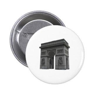 Arc de Triomphe 3D Model Button