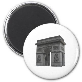 Arc de Triomphe 3D Model Magnet