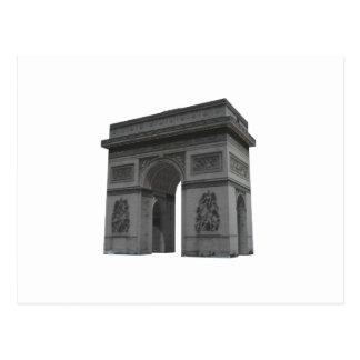 Arc de Triomphe: 3D Model: Postcard