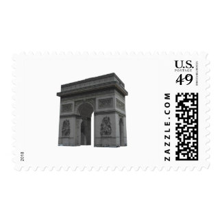 Arc de Triomphe: 3D Model: Stamp