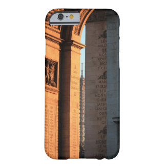 ARC DE TRIOMPHE and EIFFEL tower 2 Barely There iPhone 6 Case