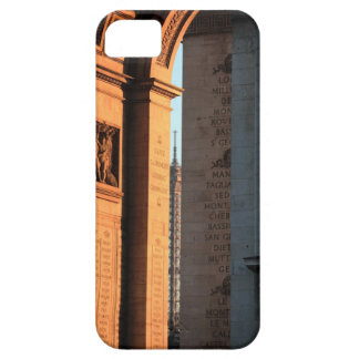 ARC DE TRIOMPHE and EIFFEL tower 2 iPhone SE/5/5s Case