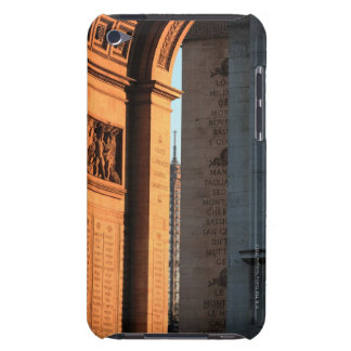 ARC DE TRIOMPHE and EIFFEL tower 2 iPod Touch Case-Mate Case