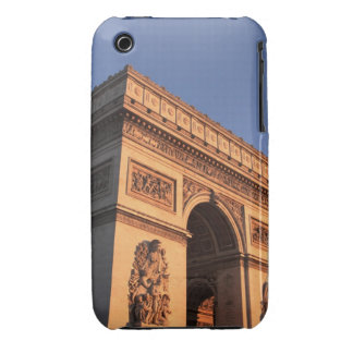 ARC DE TRIOMPHE and EIFFEL tower iPhone 3 Cover