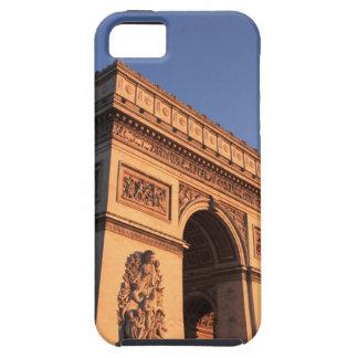 ARC DE TRIOMPHE and EIFFEL tower iPhone SE/5/5s Case