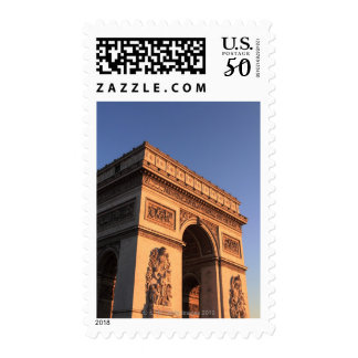 ARC DE TRIOMPHE and EIFFEL tower Postage