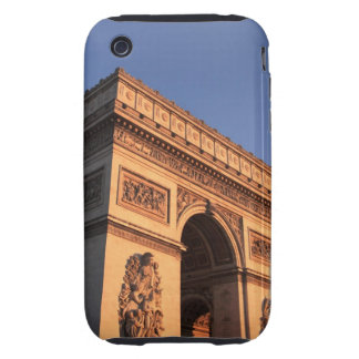 ARC DE TRIOMPHE and EIFFEL tower Tough iPhone 3 Covers