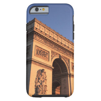 ARC DE TRIOMPHE and EIFFEL tower Tough iPhone 6 Case