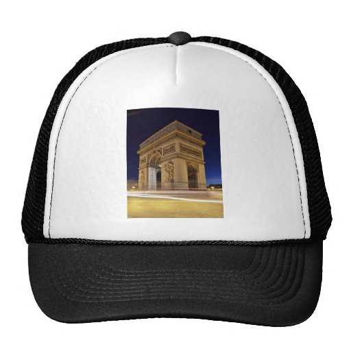 Arc De Triomphe at night Hats