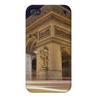 Arc De Triomphe at night iPhone 4 Cover