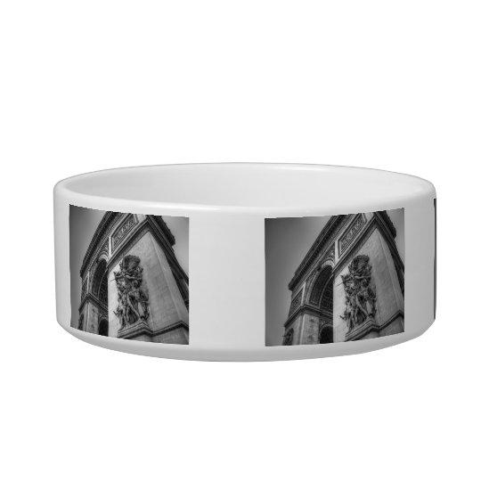 Arc de Triomphe b/w Bowl